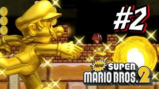 New Super Mario Bros 2 3DS - Part 2 World 2