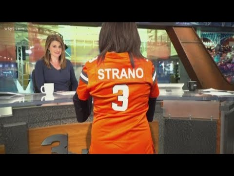 Cleveland Browns jersey shout out from Hollie Strano - YouTube 1dd35cd25