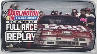 Full Race Replay: 1994 Southern 500 | Darlington Raceway | Junior Johnson's last win as a car owner