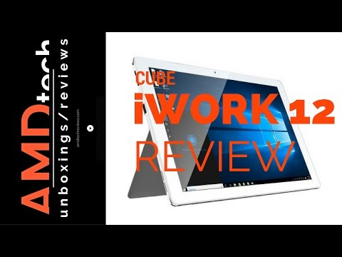 Cube iWork 12 Review:  Dual OS  2-in-1 Tablet PC