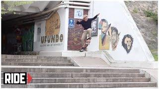 Jordan Hoffart, Marius Syvanen, Tom Remillard & JT Aultz Skate Cape Town, SA