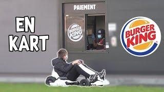 Un enfant en kart au Burger King - Prank - Les Inachevés