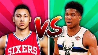 Would You Rather Have Ben Simmons Or Giannis Antetokounmpo?