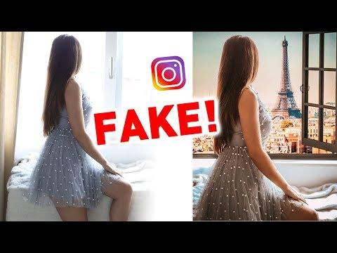 SO FAKE IST INSTAGRAM ! 😳 ICH TESTE DIE FOTO TRICKS | KINDOFROSY
