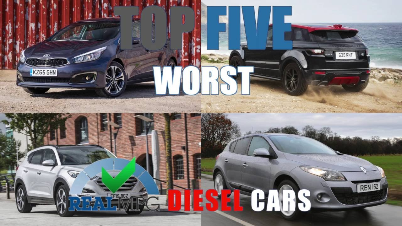 Top 5 Real Mpg Worst Sel Cars