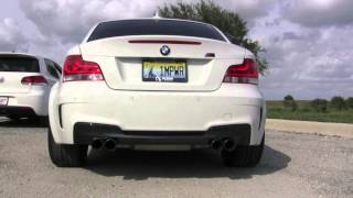 BMW 1M Active Autowerke Straight Pipes