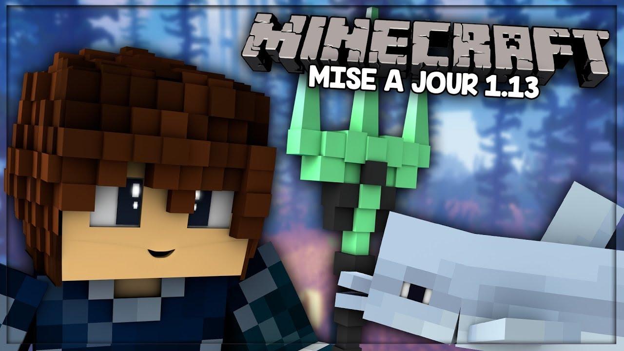 ???? OCEAN UPDATE ! ► Update - Minecraft [1.13]