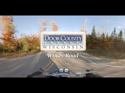 Motorcycle Ride on Windy Road - 360 Video