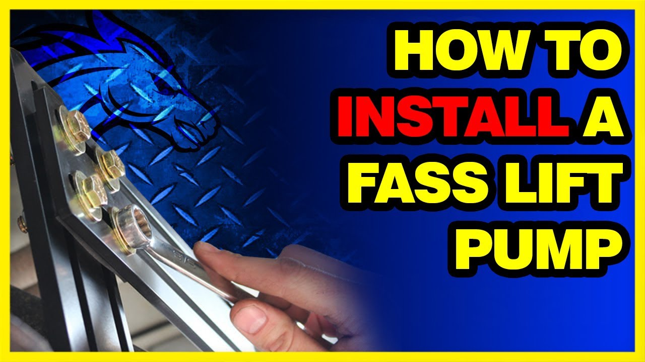 How To Install A Fass Lift Pump New Mounting System Youtube Electrico De Ford On Wiring Diagram For 2007 F 450 Super Duty
