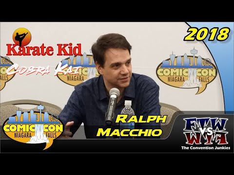 Ralph Macchio The Karate Kid Niagara Falls Comic Con 2018 Full Panel