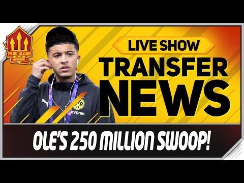 Solskjaer\'s 250 Million Sancho, Koulibaly, Verratti Swoop! Man Utd Transfer News