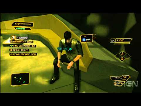 Deus Ex: Human Revolution Achievement/Trophies - Super Sleuth and Shanghai Justice