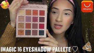 ALIEXPRESS ♡iMAGIC 16 EYESHADOW PALLETE♡ IS IT WORTH IT !?