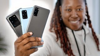 Samsung Galaxy S20 Lineup - Hands On & First Impressions!