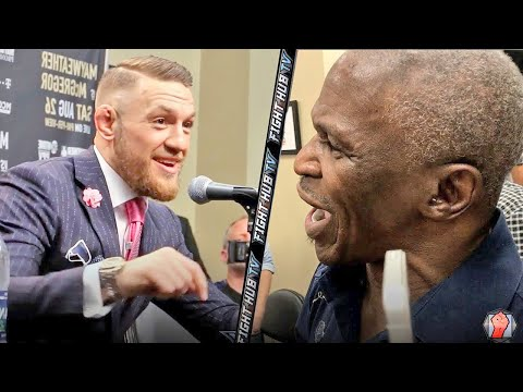 Thumbnail: MAYWEATHER SR EXPLODES ON MCGREGOR! SHOWS SPEED & CONOR LAUGHS AT HIM!