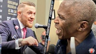 MAYWEATHER SR EXPLODES ON MCGREGOR! SHOWS SPEED & CONOR LAUGHS AT HIM! thumbnail