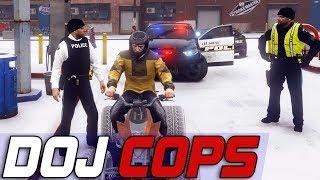 Dept. of Justice Cops #614 - SplIt Second Wheelies