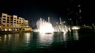 Dubai Fountain at Burj  Khalifa ( Sama Dubai, Mehad Hamed )