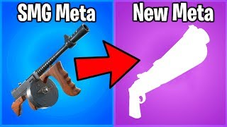 FORTNITE'S SMG META IS OVER.