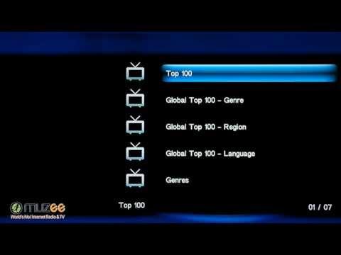 Просмотр интернет каналов (Asus O!Play HDP-R1)