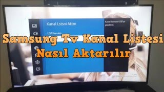 Gambar cover Samsung Tv Kanal Listesi Ekleme Ve Güncel Kanal Listesi