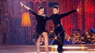 Шариф Мирханов и Анна Долгополова - бальный танец, пасодобль «Espana cani» // Синяя птица 2016