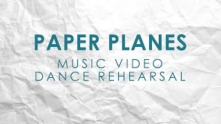Victoria Duffield - Paper Planes - Music Video Dance Rehearsal