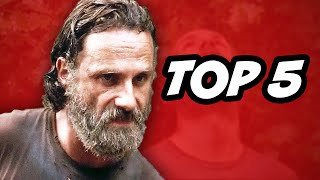 The Walking Dead Season 5 Episode 10 - TOP 5 WTF