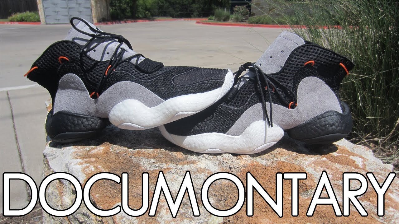 adidas Crazy BYW LVL 1 Black Carbon • On-Feet   Review  9a34d624f