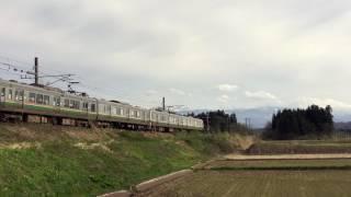奥羽本線の719系交流電車〜East Japan Railway Yamagata Line