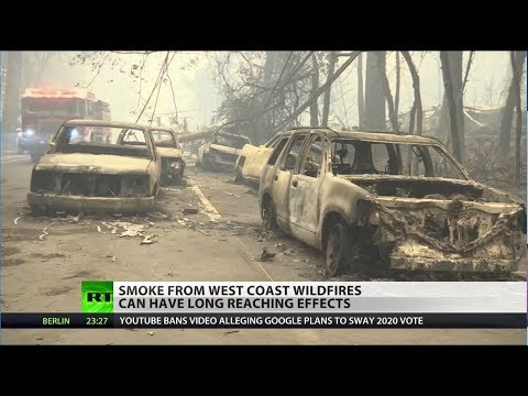 Western wildfires could kill millions