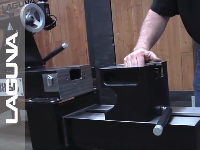 REVO 1836 Lathe Setup - The 20 Inch Extension Riser Block - Part 10