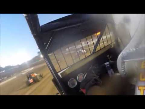 Spec sprint car #77s MAIN Placerville speedway 8-4-18 in car gopro