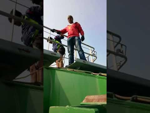 Crane operator floting