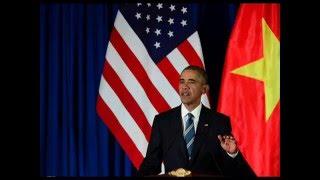 Tổng thống Obama công bố gỡ bỏ hoàn toàn cấm vận vũ khí đối với VN