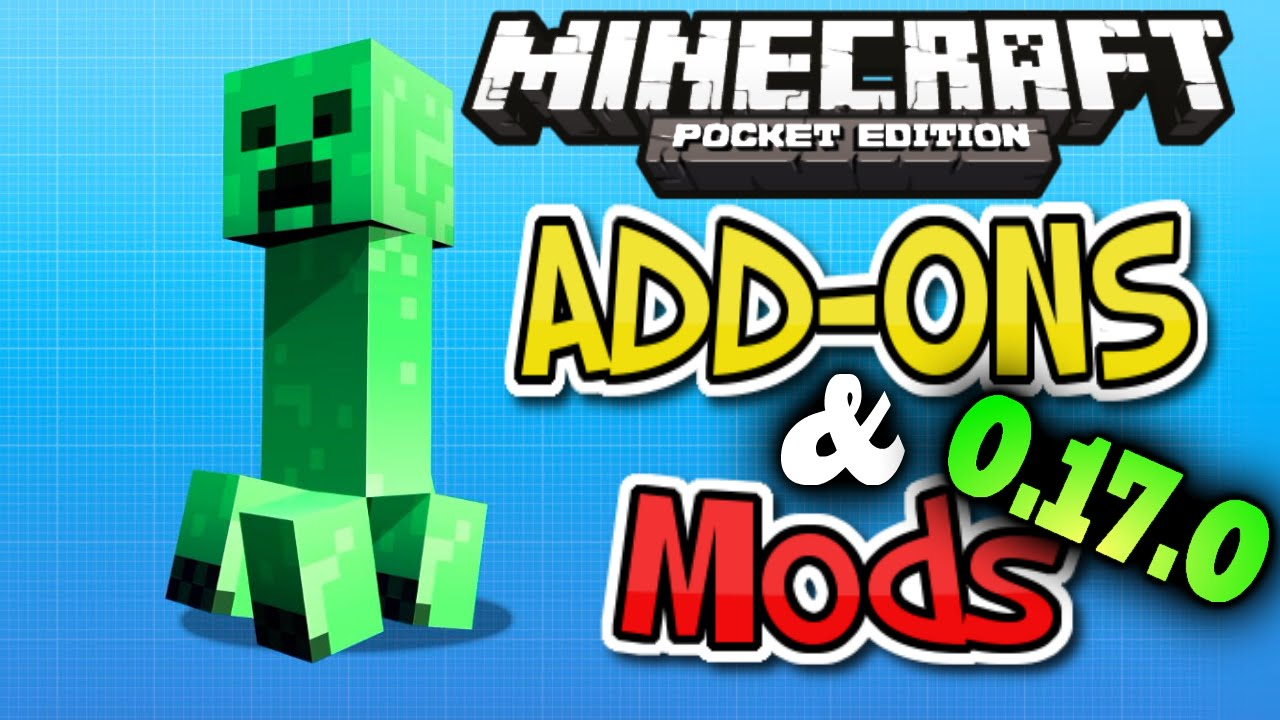 MCPE: Add-ons & Mods [0.17.0] OFFICIAL GAMEPLAY - Minecon Update Gameplay - Mods for Minecraft Pe