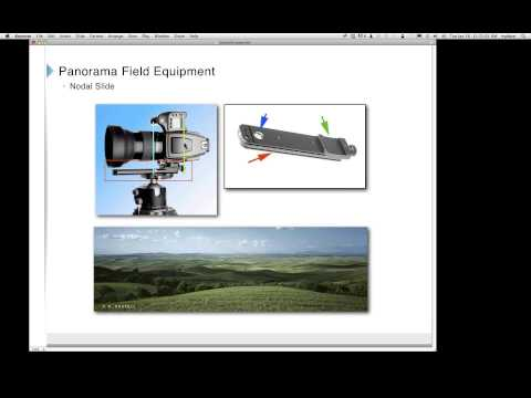 Webinar: High Resolution Panorama Photography Co-sponsored by SanDisk