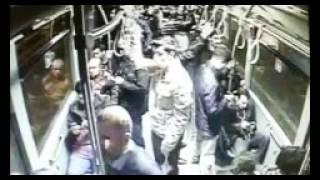 Metrobüs kazası kamerada