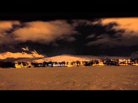 Tromsø - time lapse photography (HD) (v2)