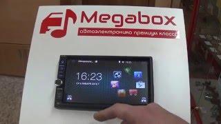 Обзор автомагнитолы 2 din. Megabox V1-7000 Android OS.