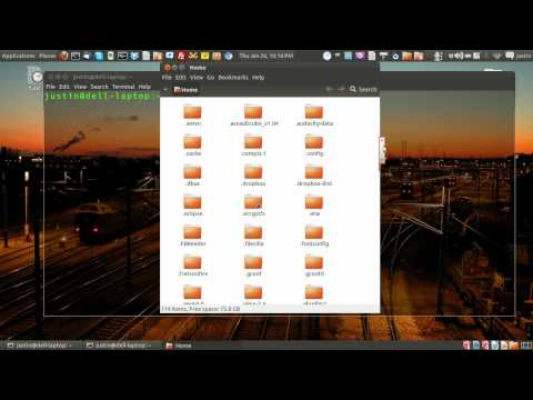Find hidden files in Linux Mint 17 from YouTube · Duration:  1 minutes 36 seconds