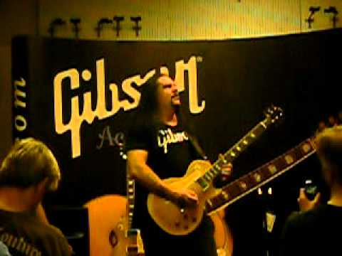 Mike Scaccia Guitar instruction at Fullers Vintage Guitars Houston TX