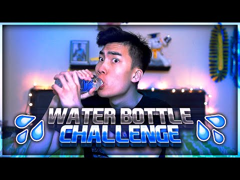 Thumbnail: WATER BOTTLE CHALLENGE (RiceGum)