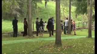 Wedding at Knapdale Eco Lodge Gisborne