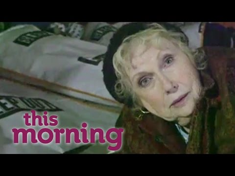 Denise Robertson's Centrepoint Sleep Out | This Morning
