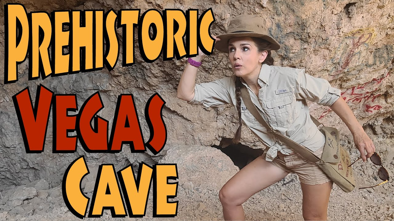 CAVE HUSSY 2: Exploring and Using My Imagination in a Prehistoric Ice Age Cave Right Outside Vegas