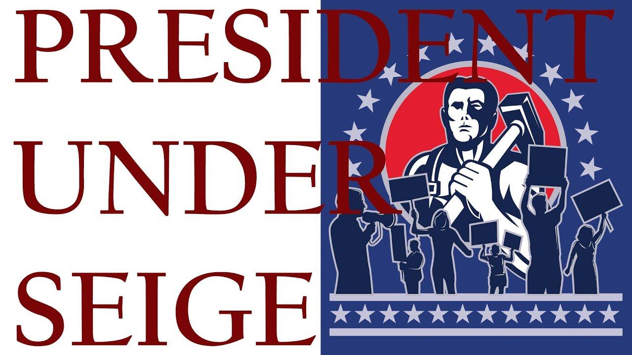 Siege on President Trump  陷入重圍的總統!