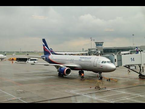 Перелет Екатеринбург - Москва (Аэрофлот) - Yekaterinburg - Moscow (Aeroflot)