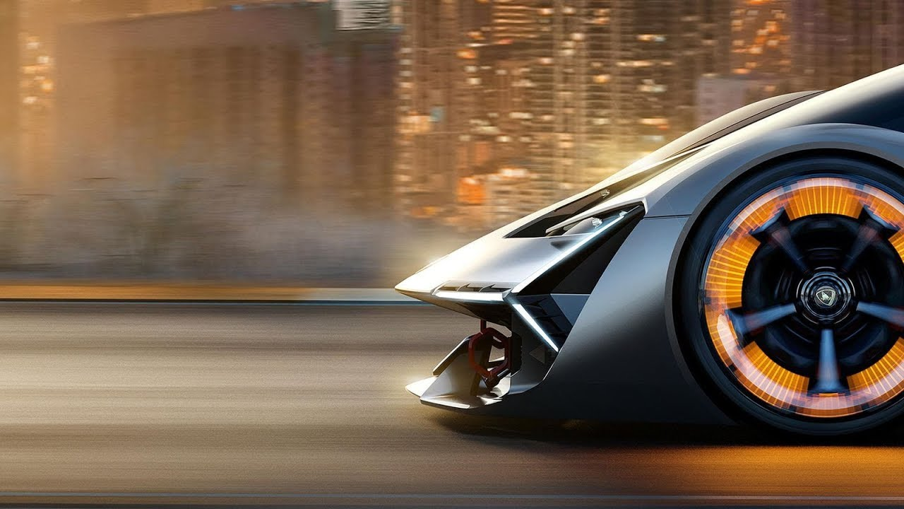 Lamborghini Unveils Its First Electric Car Terzo Millennio Concept