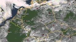 Satellit zeigt Schneeflächen - Ein feiner Unterschied zu Wolken